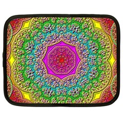 Mandala Tile Background Geometric Netbook Case (xl)