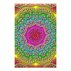 Mandala Tile Background Geometric Shower Curtain 48  X 72  (small)  by Simbadda