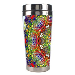 Mandala Pattern Ornaments Structure Stainless Steel Travel Tumblers