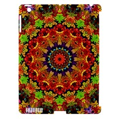 Fractal Mandala Flowers Apple Ipad 3/4 Hardshell Case (compatible With Smart Cover) by Simbadda
