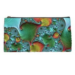 Fractal Art Colorful Pattern Pencil Cases