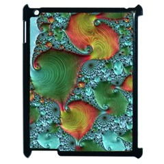 Fractal Art Colorful Pattern Apple Ipad 2 Case (black) by Simbadda
