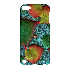 Fractal Art Colorful Pattern Apple Ipod Touch 5 Hardshell Case by Simbadda