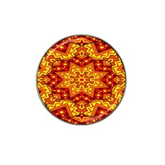 Kaleidoscope Mandala Recreation Hat Clip Ball Marker (10 Pack) by Simbadda
