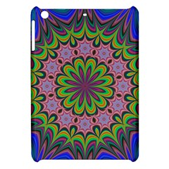 Floral Fractal Star Render Apple Ipad Mini Hardshell Case by Simbadda