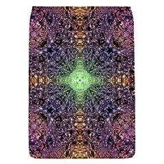 Mandala Carpet Pattern Geometry Removable Flap Cover (s) by Simbadda