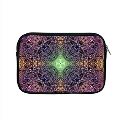 Mandala Carpet Pattern Geometry Apple Macbook Pro 15  Zipper Case by Simbadda