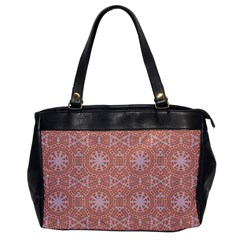 Vintage Abstract Background Mandala Oversize Office Handbag