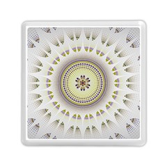Mandala Fractal Decorative Memory Card Reader (square)
