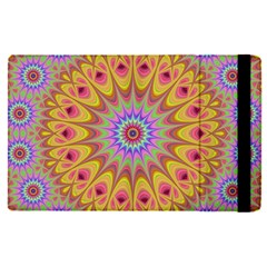 Geometric Flower Oriental Ornament Apple Ipad Pro 9 7   Flip Case