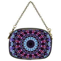 Kaleidoscope Shape Abstract Design Chain Purse (one Side)