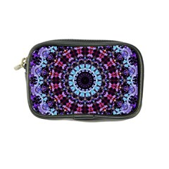 Kaleidoscope Shape Abstract Design Coin Purse by Simbadda