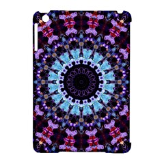 Kaleidoscope Shape Abstract Design Apple Ipad Mini Hardshell Case (compatible With Smart Cover) by Simbadda