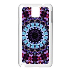 Kaleidoscope Shape Abstract Design Samsung Galaxy Note 3 N9005 Case (white)
