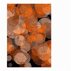 Circle Rings Abstract Optics Small Garden Flag (two Sides)
