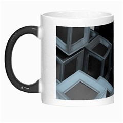 3d Cube Fantasy Square Shape Morph Mugs
