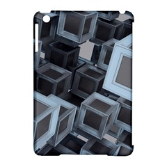 3d Cube Fantasy Square Shape Apple Ipad Mini Hardshell Case (compatible With Smart Cover) by Simbadda