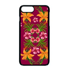 Blossom Yellow Flower Yellow Summer Apple Iphone 8 Plus Seamless Case (black)