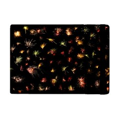 Fireworks Christmas Night Dark Ipad Mini 2 Flip Cases by Simbadda