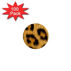 Animal Print Leopard 1  Mini Buttons (100 Pack)  by NSGLOBALDESIGNS2