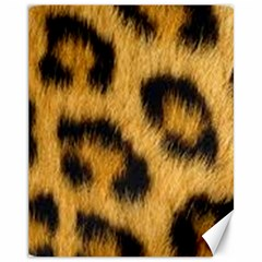 Animal Print Leopard Canvas 11  X 14  by NSGLOBALDESIGNS2