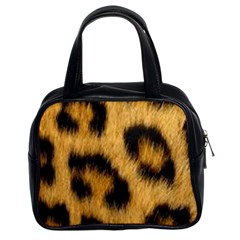 Animal Print Leopard Classic Handbag (two Sides) by NSGLOBALDESIGNS2