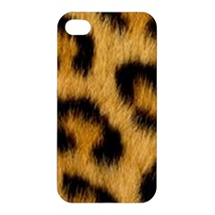 Animal Print Leopard Apple Iphone 4/4s Premium Hardshell Case by NSGLOBALDESIGNS2