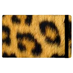 Animal Print Leopard Apple Ipad 2 Flip Case by NSGLOBALDESIGNS2