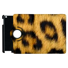 Animal Print Leopard Apple Ipad 2 Flip 360 Case by NSGLOBALDESIGNS2