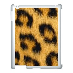 Animal Print Leopard Apple Ipad 3/4 Case (white) by NSGLOBALDESIGNS2