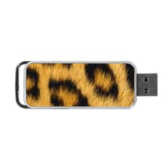 Animal Print Leopard Portable Usb Flash (two Sides) by NSGLOBALDESIGNS2
