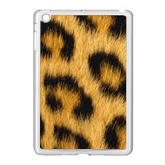 Animal Print Leopard Apple Ipad Mini Case (white) by NSGLOBALDESIGNS2