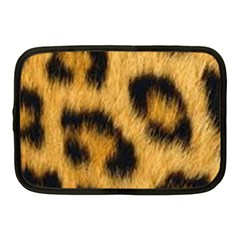 Animal Print Leopard Netbook Case (medium) by NSGLOBALDESIGNS2