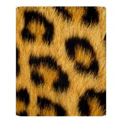 Animal Print Leopard Shower Curtain 60  X 72  (medium)  by NSGLOBALDESIGNS2