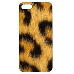 Animal Print Leopard Apple Iphone 5 Hardshell Case With Stand by NSGLOBALDESIGNS2