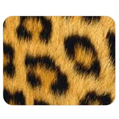 Animal Print Double Sided Flano Blanket (medium)  by NSGLOBALDESIGNS2