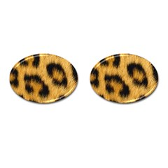 Animal Print 3 Cufflinks (oval) by NSGLOBALDESIGNS2