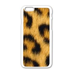 Animal Print 3 Apple Iphone 6/6s White Enamel Case by NSGLOBALDESIGNS2