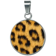 Animal Print 3 20mm Round Necklace by NSGLOBALDESIGNS2