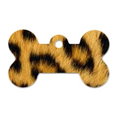 Animal Print 3 Dog Tag Bone (two Sides) by NSGLOBALDESIGNS2