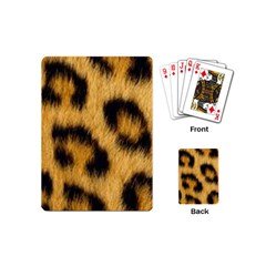 Animal Print 3 Playing Cards (mini) by NSGLOBALDESIGNS2