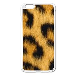 Animal Print 3 Apple Iphone 6 Plus/6s Plus Enamel White Case by NSGLOBALDESIGNS2
