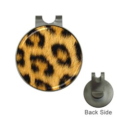 Leopard Print Hat Clips With Golf Markers by NSGLOBALDESIGNS2
