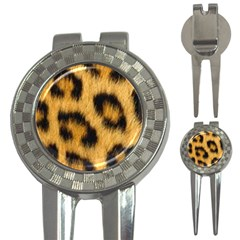 Leopard Print 3 In 1 Golf Divots by NSGLOBALDESIGNS2