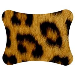 Leopard Print Jigsaw Puzzle Photo Stand (bow) by NSGLOBALDESIGNS2