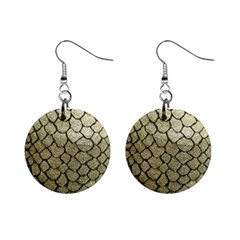 Snake Print Mini Button Earrings by NSGLOBALDESIGNS2