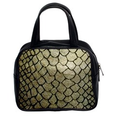 Snake Print Classic Handbag (two Sides) by NSGLOBALDESIGNS2