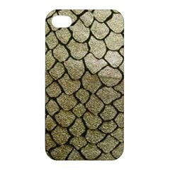 Snake Print Apple Iphone 4/4s Premium Hardshell Case by NSGLOBALDESIGNS2