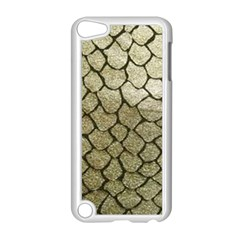 Snake Print Apple Ipod Touch 5 Case (white) by NSGLOBALDESIGNS2