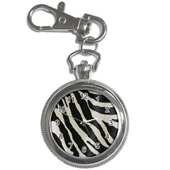 Zebra Print Key Chain Watches by NSGLOBALDESIGNS2